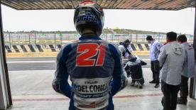 After a wet day with limited track action, Fabio Di Giannantonio discusses ending Day 1 as the quickest Moto3™ rider