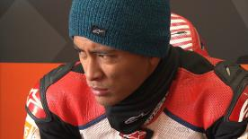 Set to make his Moto2™ debut in 2018, Zulfahmi Khairuddin discusses his last-minute call up to the SIC Racing Team for this season