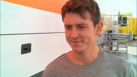 South African 2016 European Moto2™ Champion and NTS rider talks testing at Jerez