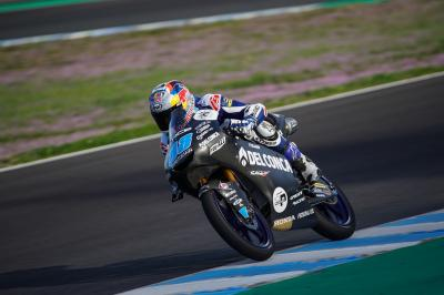 Martin, Arbolino, Antonelli the fastest trio at Jerez