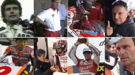 Agostini, Okada, Gresini, Puig, Borsoi... The list of riders who retired and then decided to start a managing career increases season after season