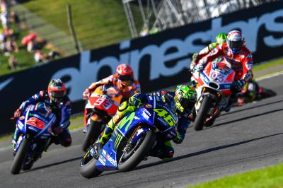 FIM MotoGP™ World Championship race durations to change