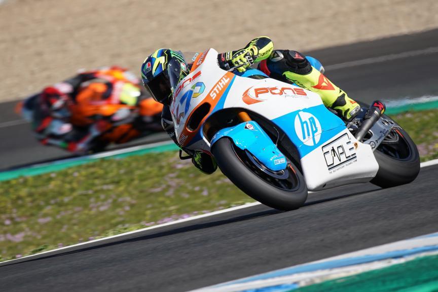 Lorenzo Baldassarri, Pons HP40, Jerez Moto2 &Moto3 Official Test