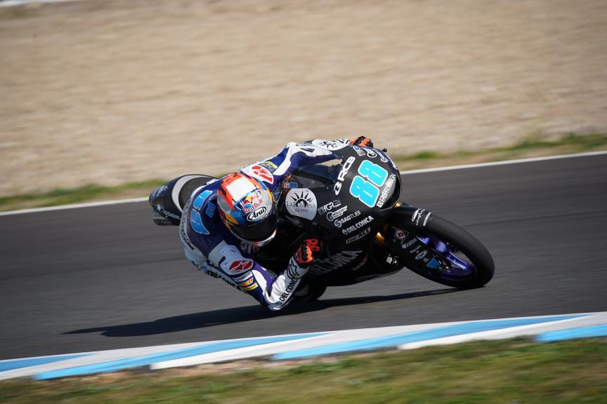 Jorge Martin, Del Conca Gresini Moto3, Jerez Moto2 &Moto3 Official Test