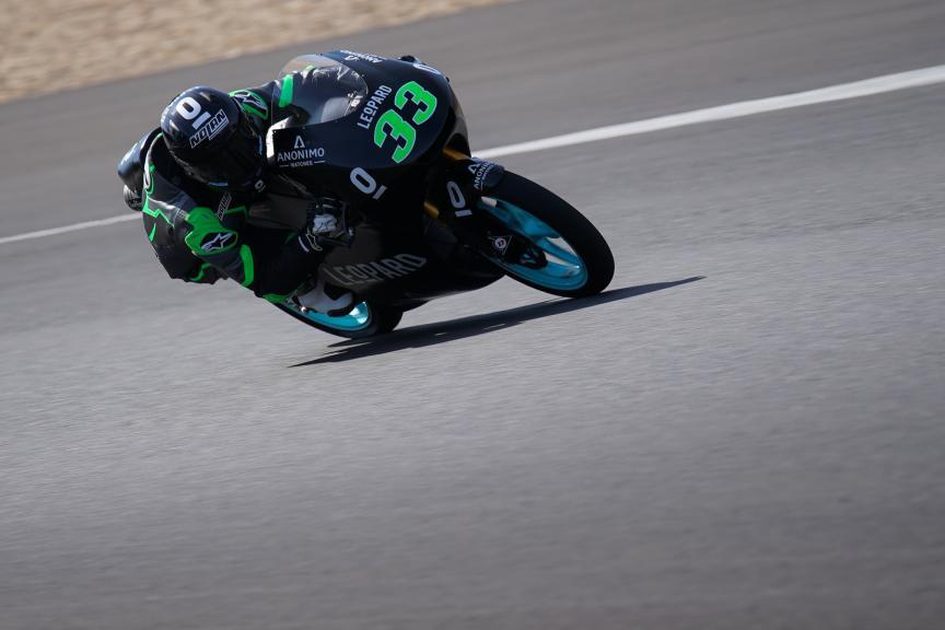 Enea bastianini, Leopard Racing, Jerez Moto2 &Moto3 Official Test
