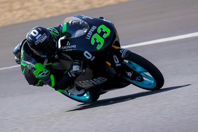Bastianini back on top on Day 2