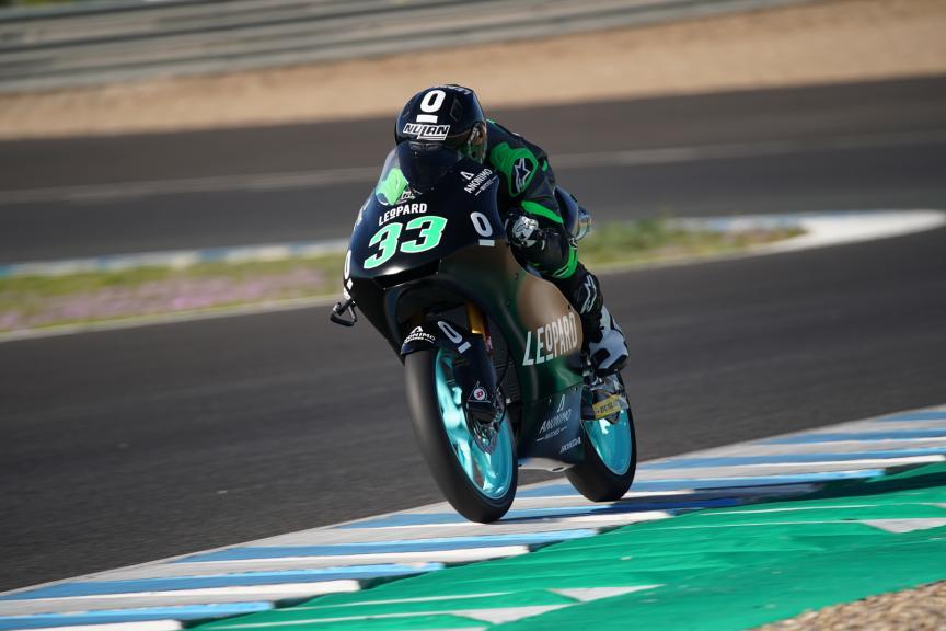 Enea bastianini, Leopard Racing, Jerez Moto2 & Moto3 Official Test