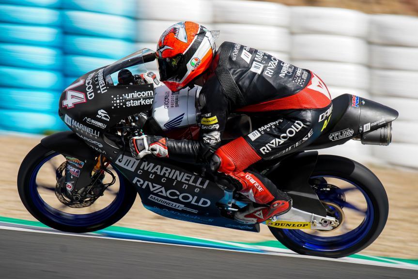 Tony Arbolino, Marinelli Snipers Team, Jerez Moto2 &Moto3 Official Test