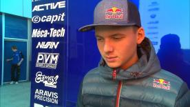 Bo Bendsneyder, nouvelle recrue du team Tech3 Racing, livre ses impressions à l'issue du Test de Jerez.