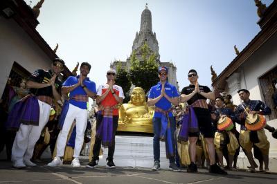 プレイベント~中上らがバンコクを訪問