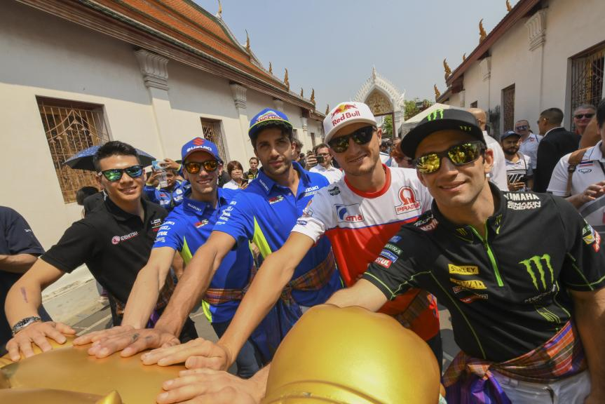 Preevent, Buriram MotoGP™ Official Test
