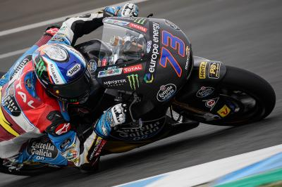 Alex Marquez masters Jerez to go fastest in testing