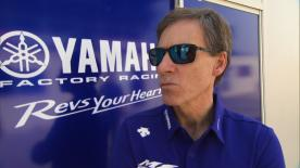 Yamaha Motor Racing's Managing Director responds to rumours about Valentino Rossi's contract renewal