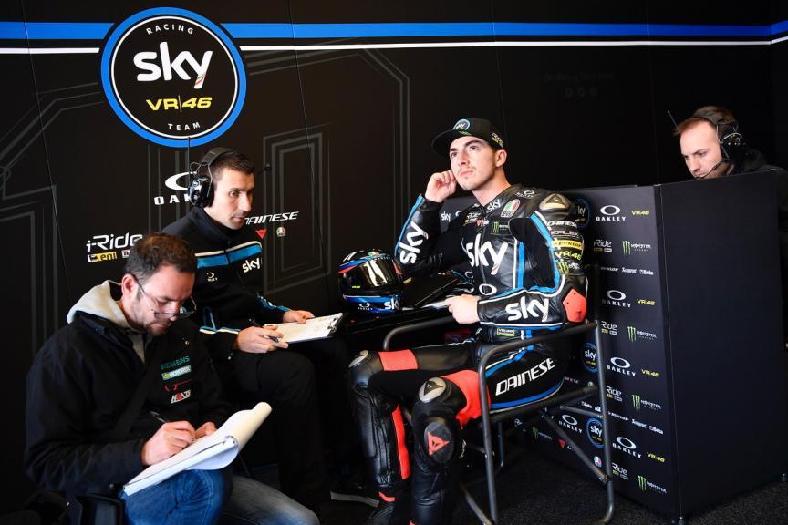 Francesco Bagnaia, Sky Racing Team VR46, Jerez Moto2 &Moto3 Official Test
