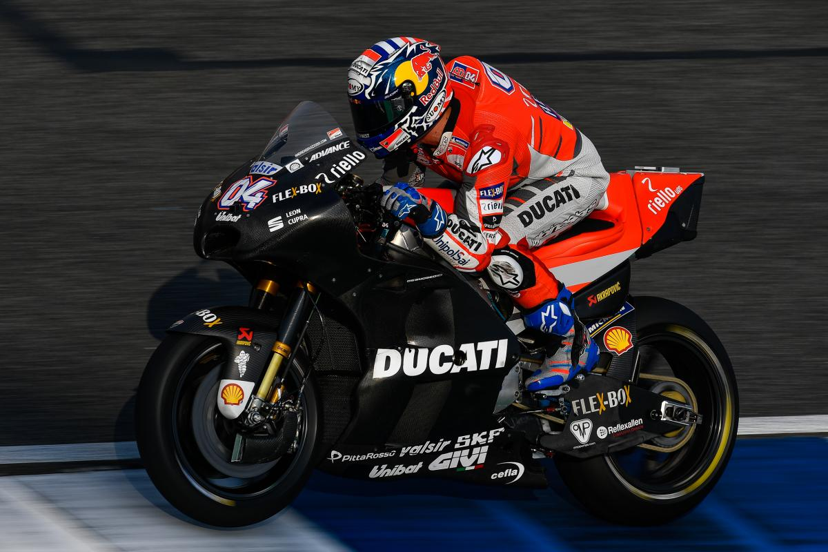 Three aero fairings a charm for Ducati? | MotoGP™