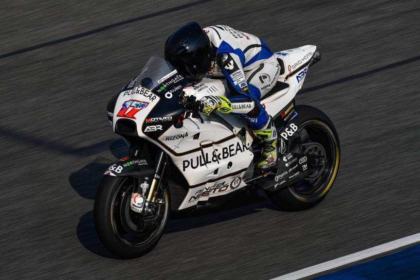 Karel Abraham, Angel Nieto Team, Buriram MotoGP™ Official Test