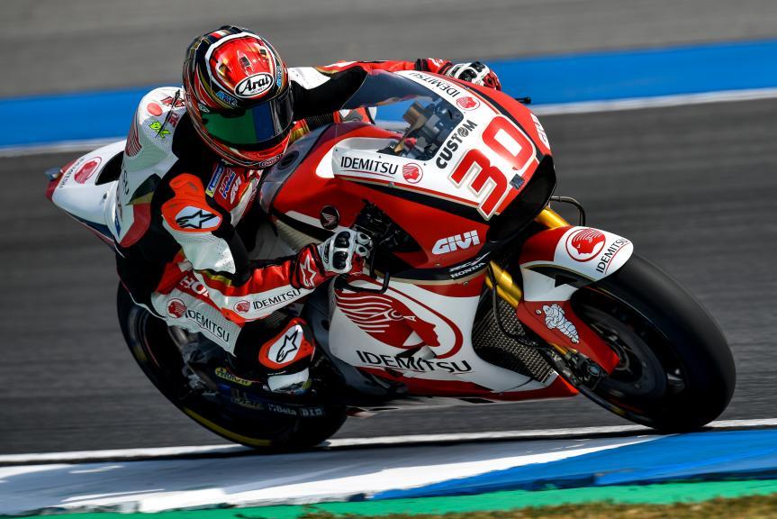 Takaaki Nakagami, LCR Honda Idemitsu, Buriram MotoGP™ Official Test