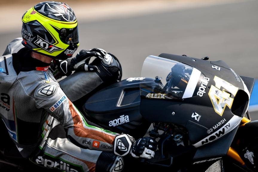 Aleix Espargaro, Aprilia Racing Team Gresini, Buriram MotoGP™ Official Test