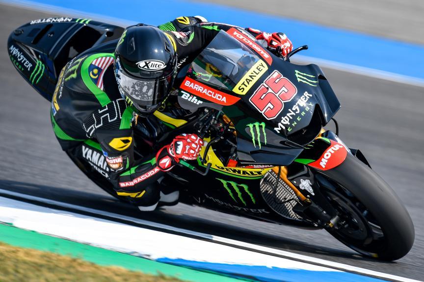 Syahrin Hafizh, Monster Yamaha Tech 3, Buriram MotoGP™ Official Test