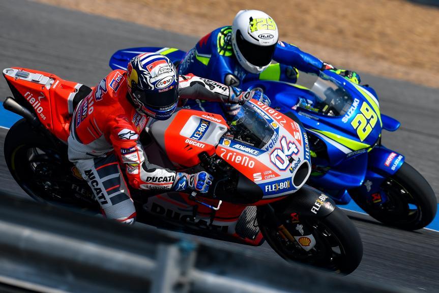 Andrea Dovizioso, Andrea Iannone, Buriram MotoGP™ Official Test
