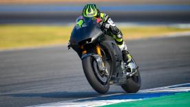 Day 1 at the Chang International Circuit saw Cal Crutchlow ending the day quickest, as the Ducati Team revealed new fairing designs