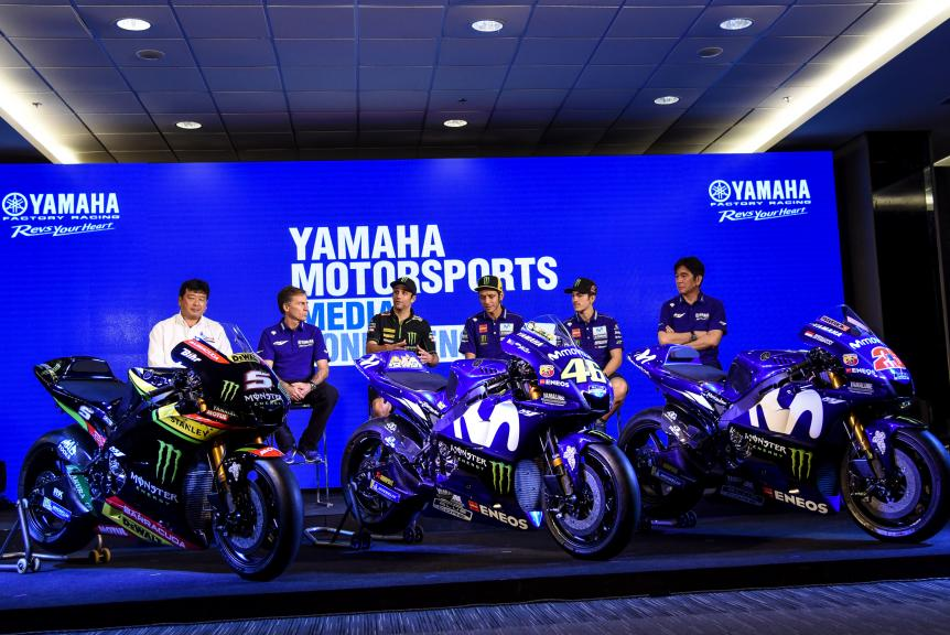 Yamaha presentation in Buriram