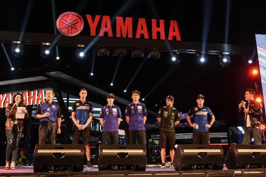 Yamaha presentation in Buriram