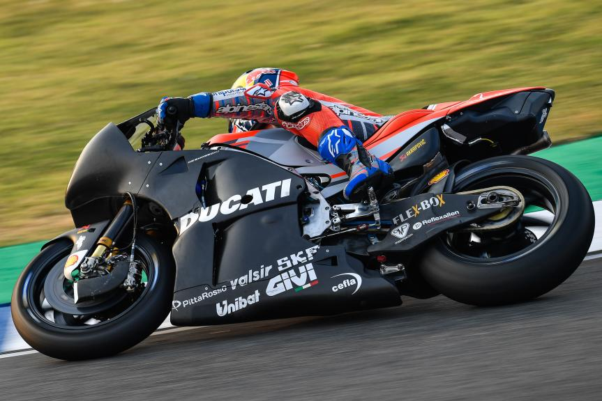 Andrea Dovizioso, Ducati Team, Buriram MotoGP™ Official Test