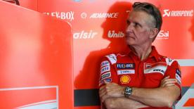 Ducati Team's Sporting Director, Paolo Ciabatti, discusses the contract renewals of Andrea Dovizioso and Jorge Lorenzo