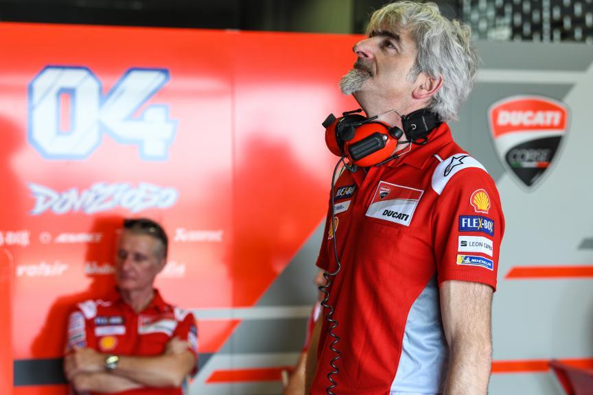 Luigi Dall'Igna, Paolo Ciabatti, Ducati Team