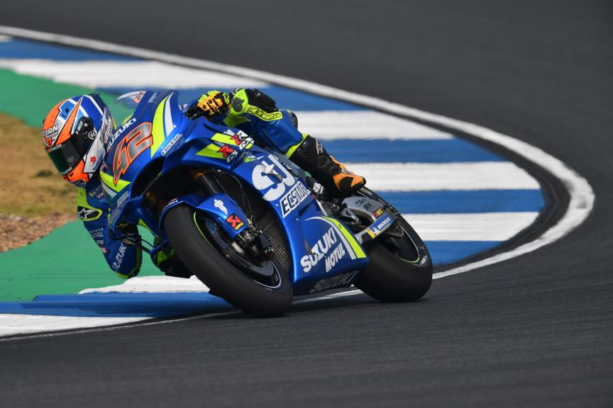 Alex Rins, Team Suzuki Ecstar, Buriram MotoGP™ Official Test