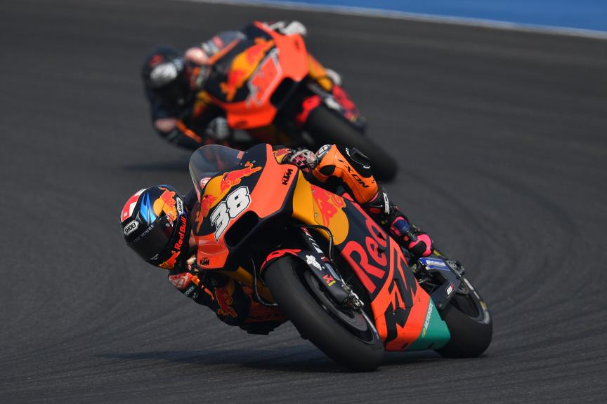 Bradley Smith, Red Bull KTM Factory Racing, Buriram MotoGP™ Official Test