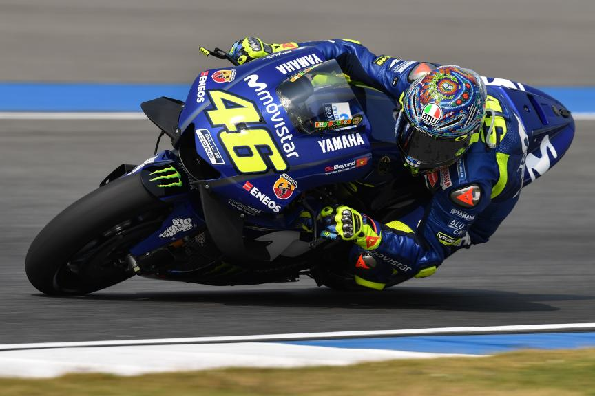 Valentino Rossi, Movistar Yamaha MotoGP, Buriram MotoGP™ Official Test