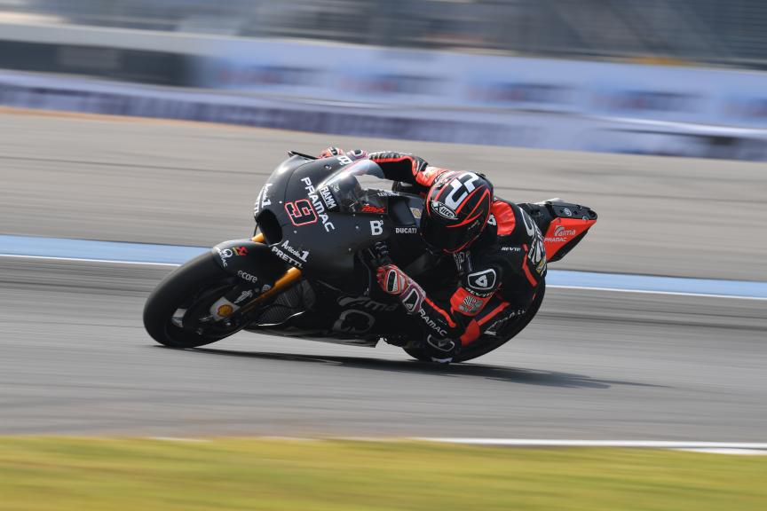 Danilo Petrucci, Alma Pramac Racing, Buriram MotoGP™ Official Test