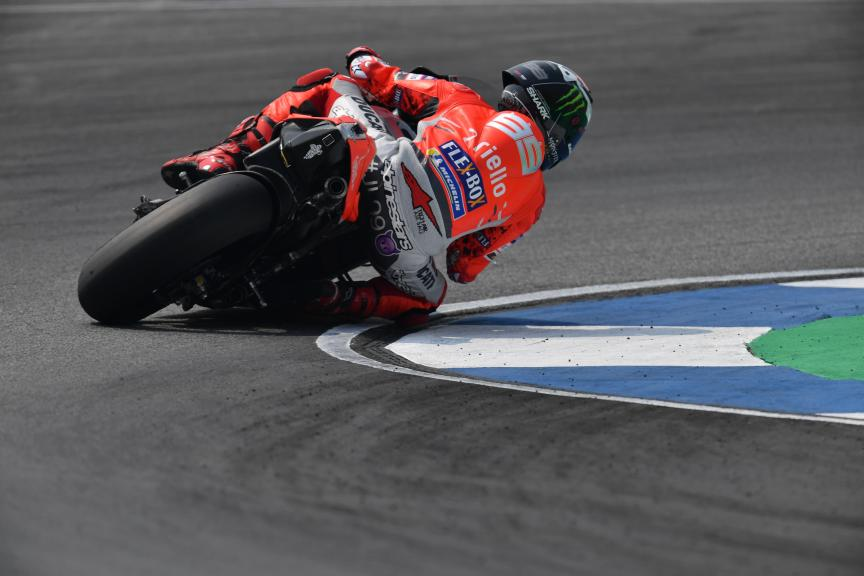 Jorge Lorenzo, Ducati Team, Buriram MotoGP™ Official Test