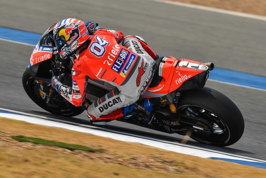 Andrea Dovizioso, Ducati Team, Buriram MotoGP™ Official Test