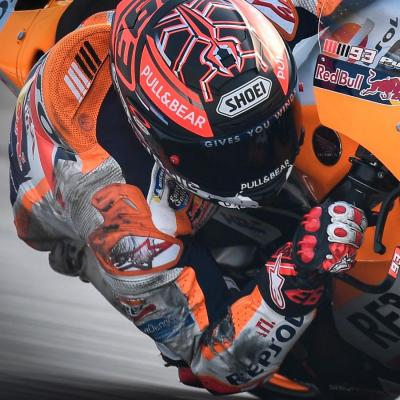 Nearly saving it: Marquez's incredible crash in Thailand