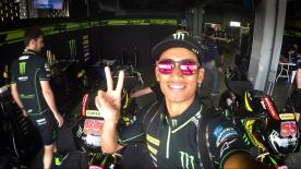 The first ever Malaysian in MotoGP™ takes us behind the scenes at the #ThaiTest