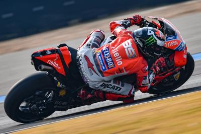 "Lorenzo: ""In Sepang we felt much better"""