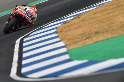 "Pedrosa positive, Marquez ""very happy"" after the #ThaiTest"