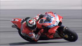 The Ducati Team rider finished the Sepang Test very satisfied, but in Thailand it was a different story...