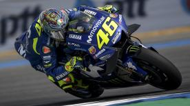 Rossi, Viñales and Team Manager Meregalli say Movistar Yamaha need to improve to be competitive at the Qatar GP