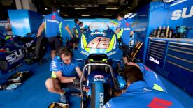 A promising test for Suzuki has allowed the team to be almost certain on which package they will run in at the season opener in Qatar