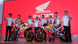Marquez and Pedrosa ready to roll in 2018 after an impressive #ThaiTest