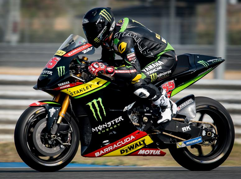Syahrin Hafizh, Monster Yamaha Tech 3, Buriram MotoGP™ Official Test