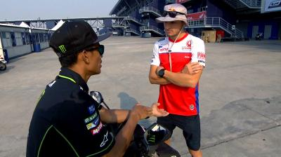 Professor Miller: Syahrin learns about MotoGP™