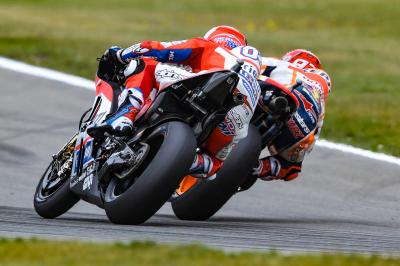 """Dovizioso: """"Marquez likes to play with the limit"""""""