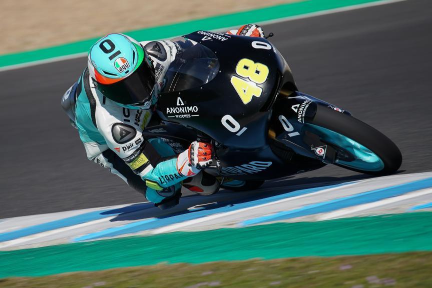 Lorenzo Dalla Porta, Leopard Racing, Jerez Moto2 &Moto3 Official Test