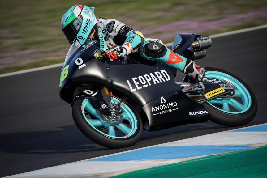 Lorenzo Dalla Porta, Leopard Racing, Jerez Moto2 & Moto3 Official Test