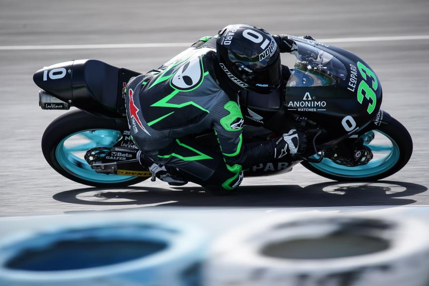 Enea bastianini, Leopard Racing, Jerez Moto2 & Moto3 Official Test